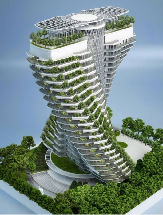 The Agora Tower In Taipei, Taiwan