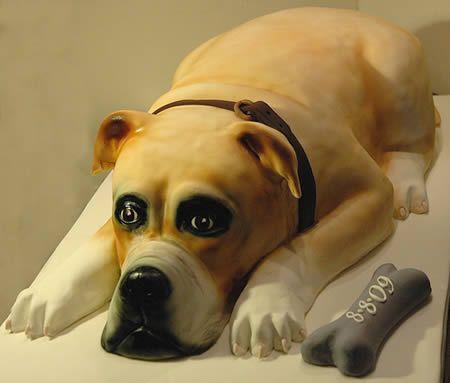 Most Amazing Dog-Shaped Cakes