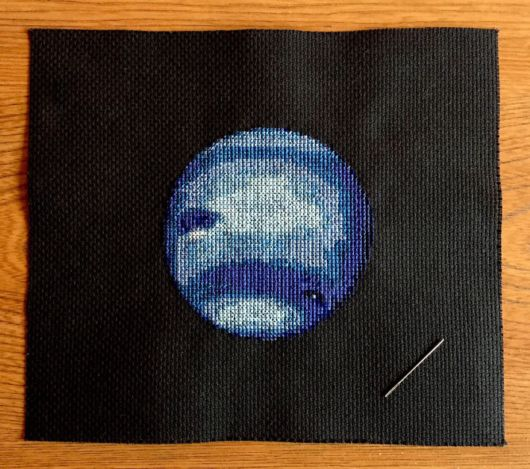 Fantastic Cross-Stitching Of The Solar System