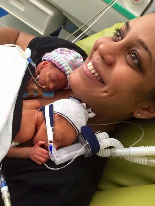 Adorable Premature Twins Holding Hands Take Internet By Storm