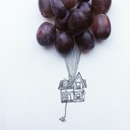 Fun Illustrations Made by Everyday Objects