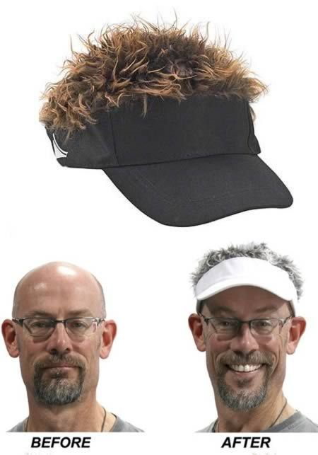 Funniest Solutions For Baldness