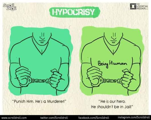 8 Posters That Show Hypocrisy In Our Society