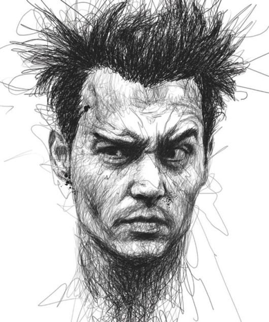 Creative Celebrity Portraits By Vince Low