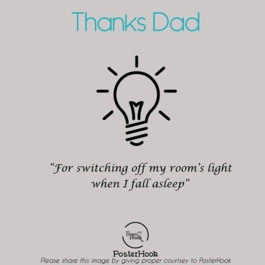 Thanks Dad