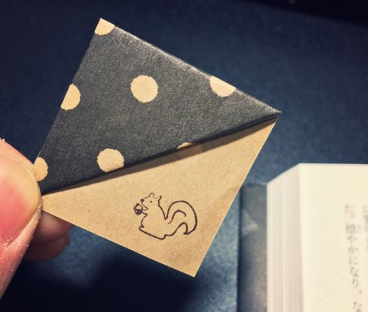 Easy Trick To Make Your Own Origami Bookmarks