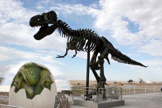 The Dinosaur City In China