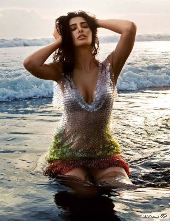 Nargis Fakhri Shoots For GQ India