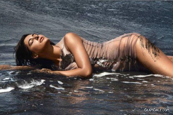 Nargis Fakhri Shoots For GQ India