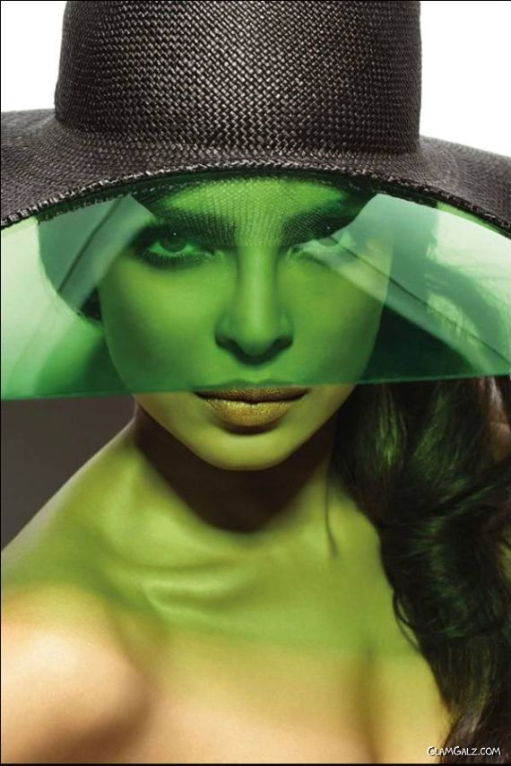 Priyanka Chopra's Exclusive Vogue Mag Scans