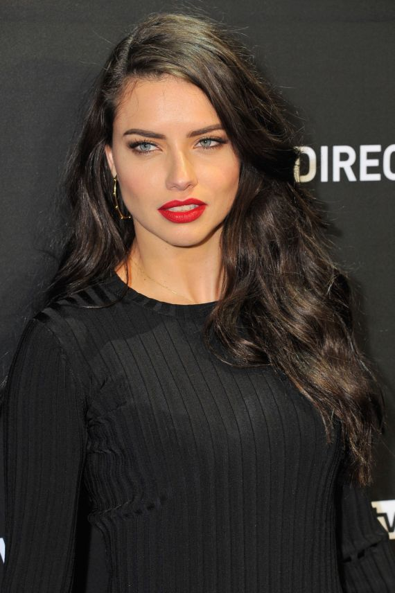 Adriana Lima At DirecTV Super Saturday