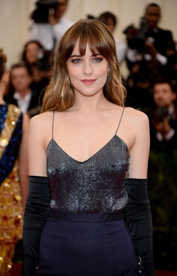 Dakota Johnson At The 2014 Met Gala