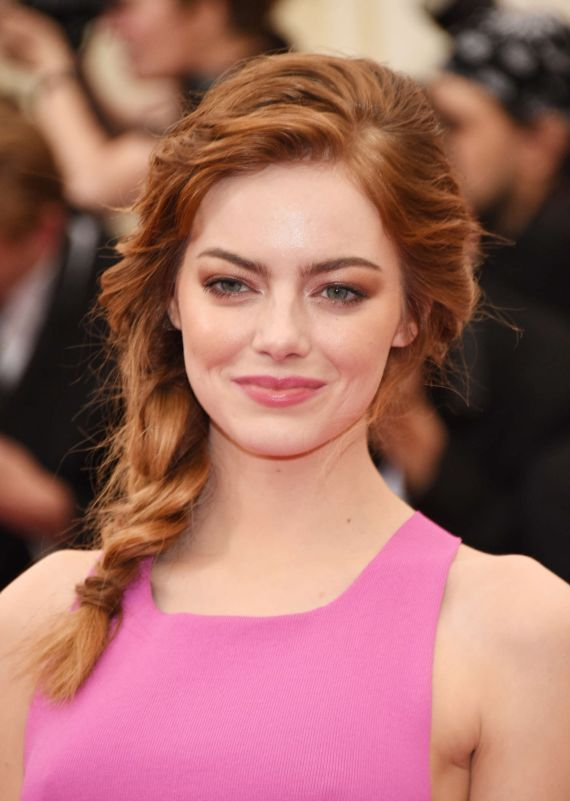 Emma Stonea At Beyond Fashion Costume Institute Gala