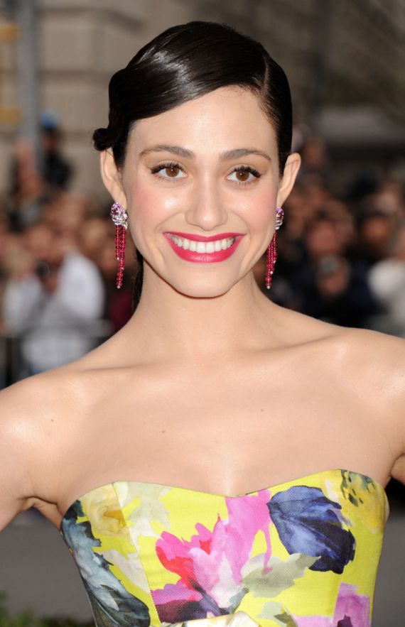 Emmy Rossum At Beyond Fashion Costume Institute Gala