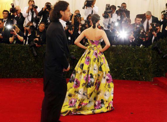 Emmy Rossum At Beyond Fashion Costume Institute Gala