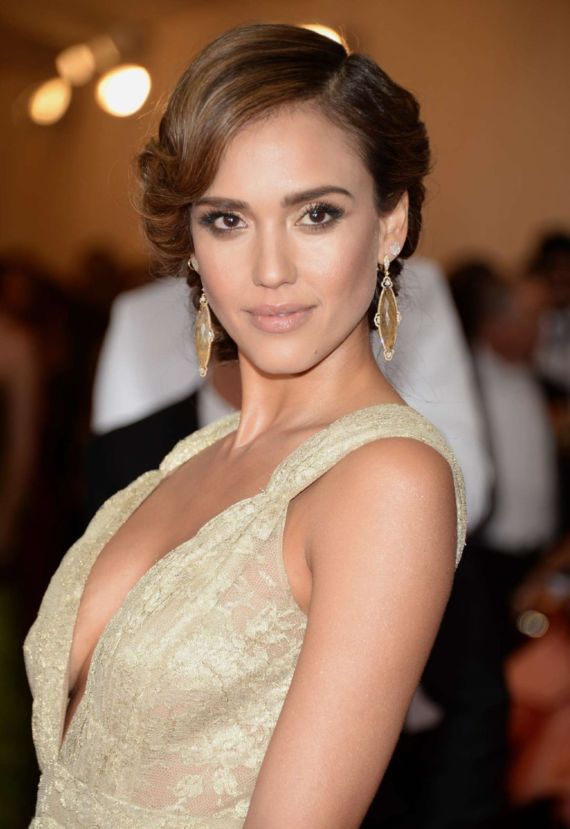 Jessica Alba At Beyond Fashion Institute Gala