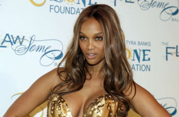 Tyra Banks At The The Flawsome Event 2014