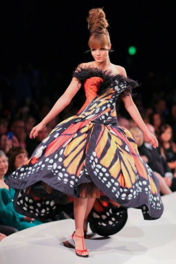 The Monarch Butterfly Dress By Luly Yang