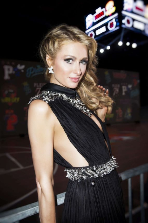 Paris Hilton For Philip Plein Fashion Show 2016 In Milan