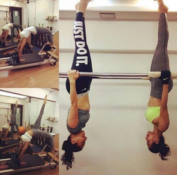 Malaika Arora Workout Pics And Diet Plan