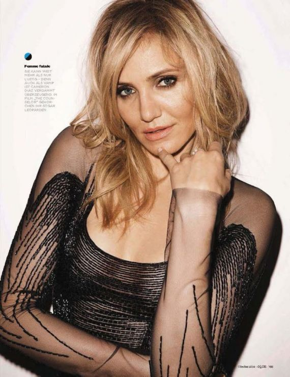 Cameron Diaz Photoshoot For GQ Magazine Germany
