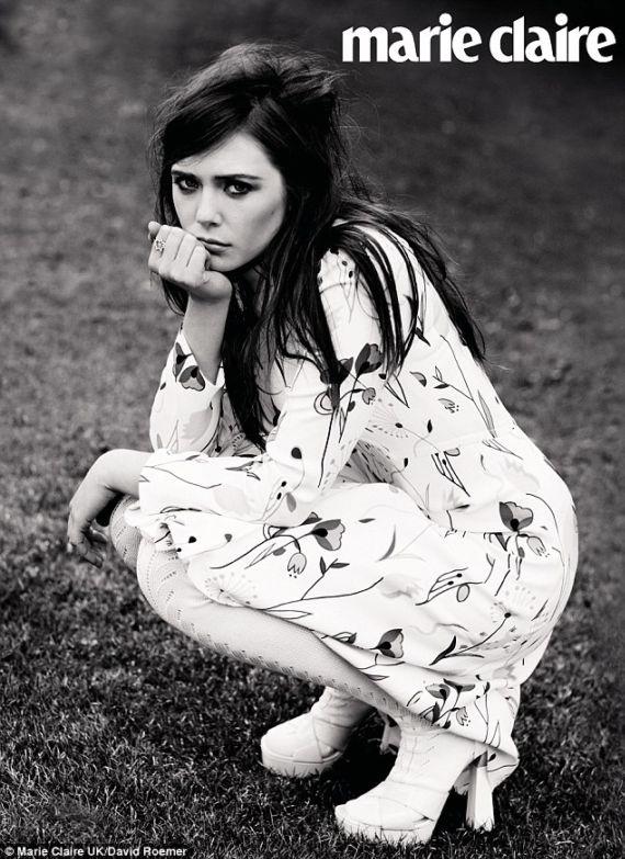 Elizabeth Olsen Shoot For Marie Claire UK
