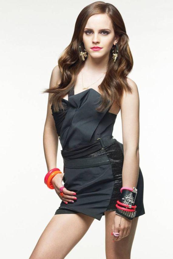 Emma Watson's Exclusive GQ Magazine Shoot