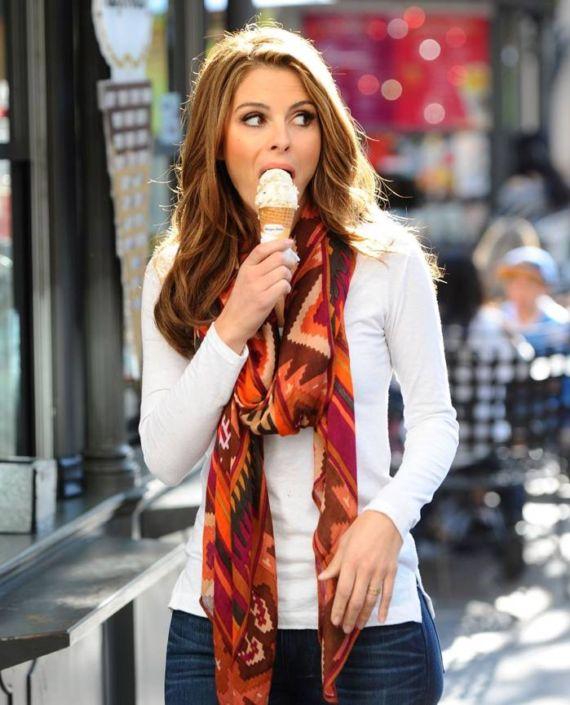 Pretty Maria Menounos Outdoor Photoshoot
