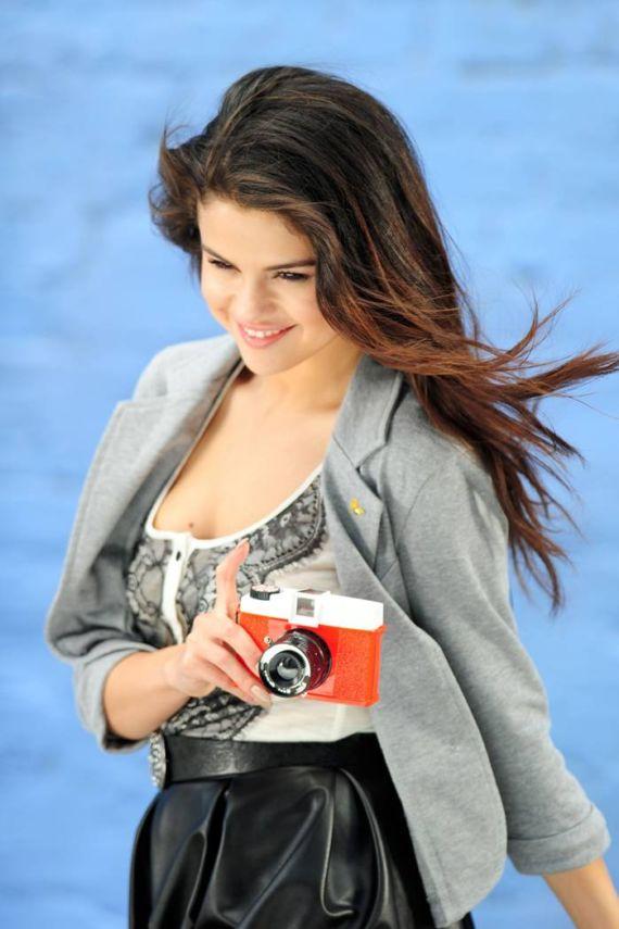Selena Gomez On Dream Out Loud Sets