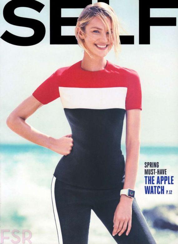 Candice Swanepoel Shoots For Self Magazine