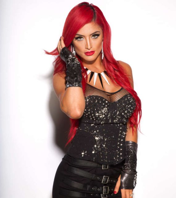 Eva Marie For Extreme Rules Divas Photoshoot