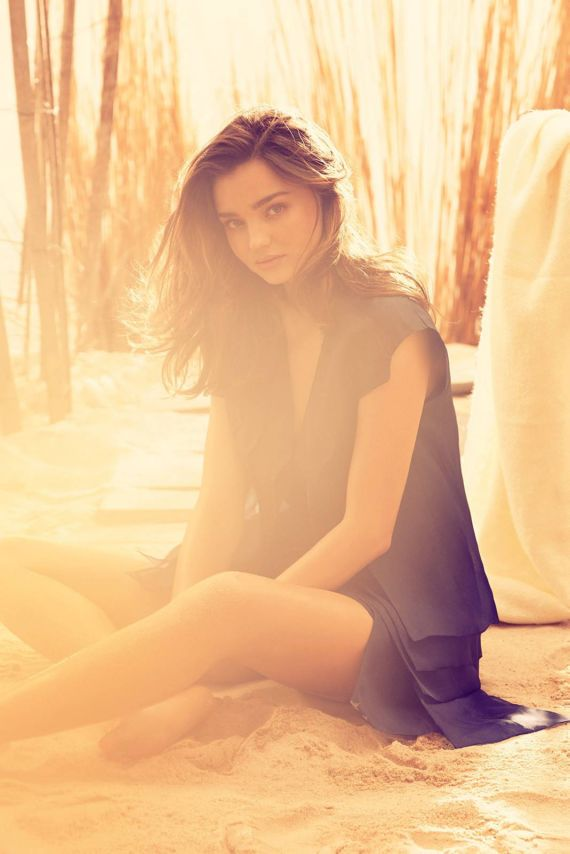 Miranda Kerr Shoots For Harper's Bazaar UK