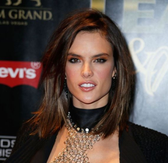 Alessandra Ambrosio At 13th Annual Leather And Laces Party