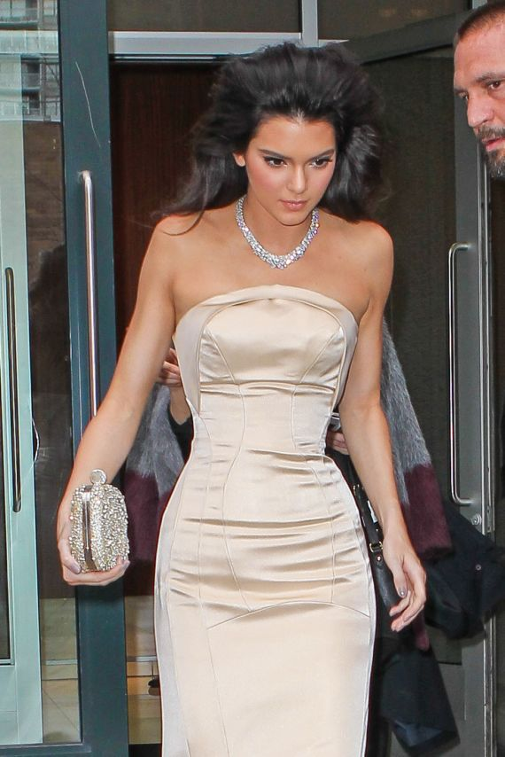 Beautiful Kendall Jenner At 2014 Met Gala