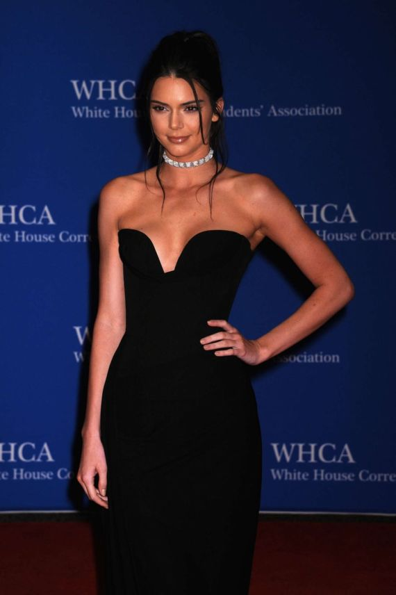 Kendall Jenner At White House Correspondents Dinner