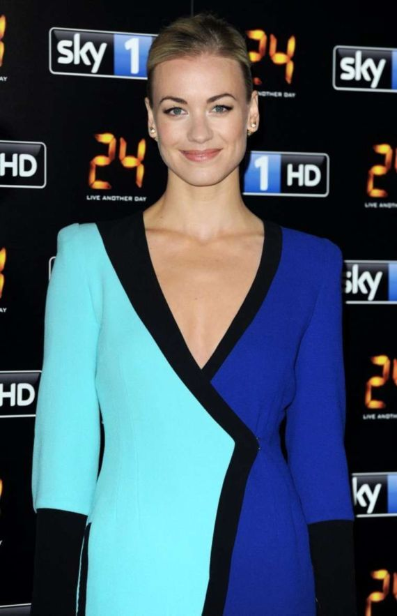 Yvonne Strahovski Attends 24 Live Another Day Premiere