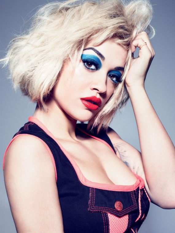 Rita Ora For Rimmel London Cosmetics Line Photoshoot