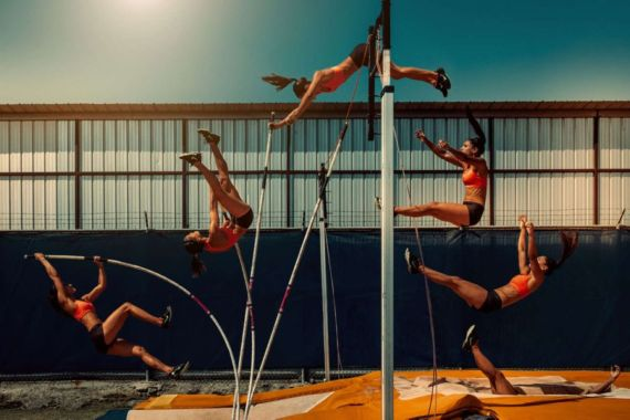Allison Stokke For The One X The Wonder Photoshoot
