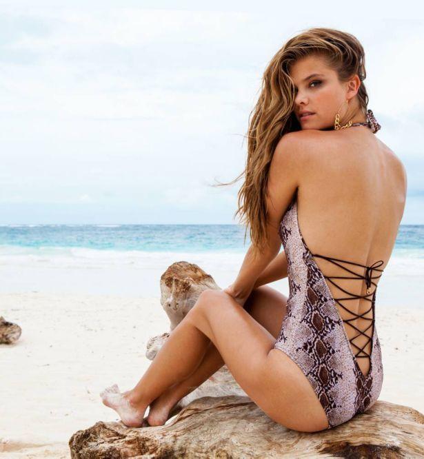 Nina Agdal For Sauvage Bikini Photoshoot