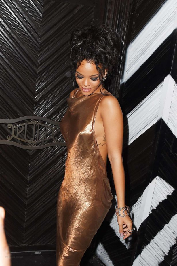 Rihanna At The 2014 Met Ball After Party