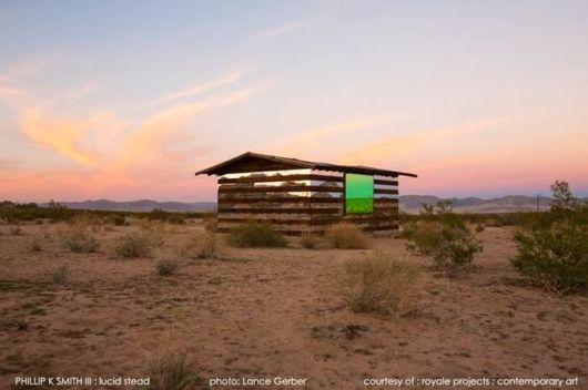 Lucid Stead - The Light Installation In A Desert