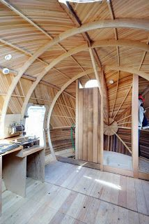Amazing Wooden Exbury Floating Egg House